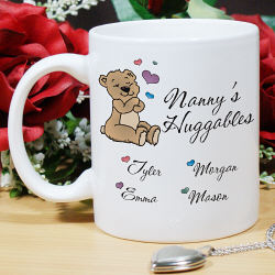Huggable Personalized Ceramic Coffee Mug