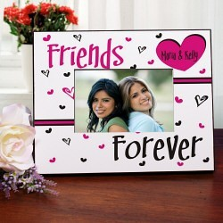 personalized friendship printed frame