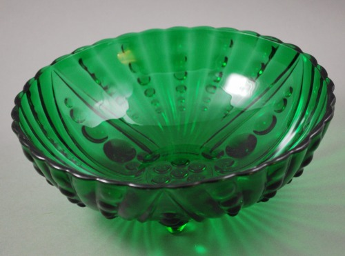 Anchor Hocking Burple Green Serving Bowl 4
