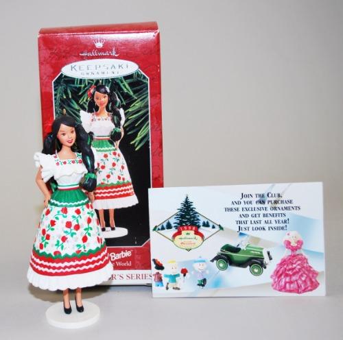 Hallmark Mexican Barbie 1