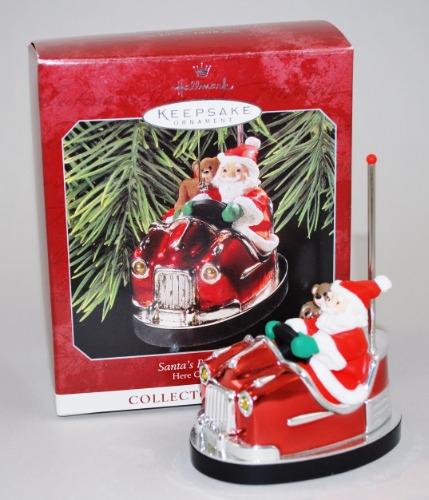 Hallmark Santa Bumper Car 1