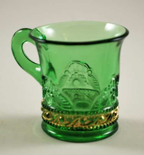 US Glass Lacy Medallion Cup 2