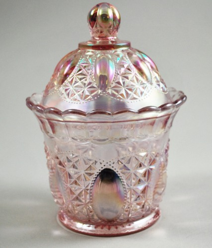 Imperial Beaded Jewel Pink Cov Box 1