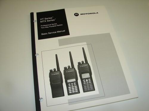 6880906z54 Motorola Waris Series Ht750 Ht1250 Basic