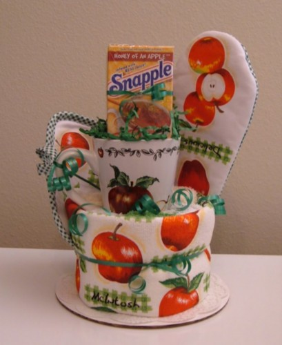 Apple Kitchen Towel Tea Cake - Front View.jpg