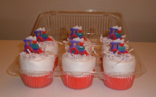 Choo Choo Train Cupcake 6 pack.jpg