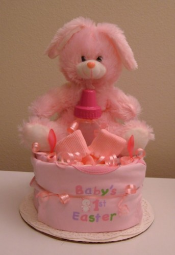 1 Tier Pink 1st Easter 2 - Front View.jpg