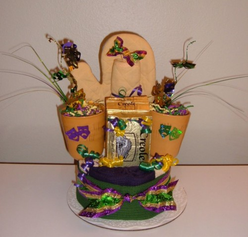 Mardi Gras Coffee Towel Cake.jpg