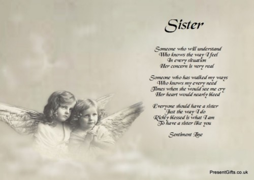 Twin Poems Sisters Sister Quotes And Poems