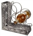 pewter 3 bottle wine rack bookend.jpg