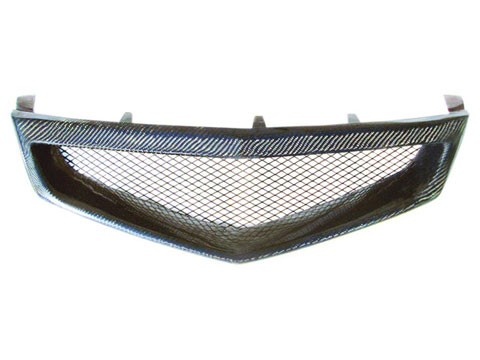 Acura  2006 on Acura Tsx 2006 2008 Carbon Fiber Mesh Grille   C Mod Grilles