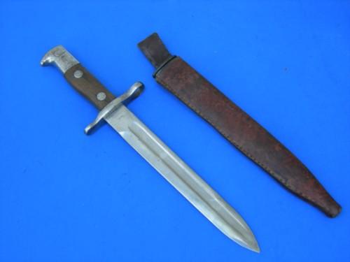 Ww I Fighting Knife From 1899 Krag Bayonet Classic War