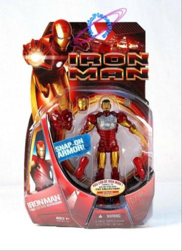 Iron Man Movie Snap On Prototype Suit 6 Inch Action Figure