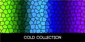 Cold color doormat collection