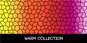 Warm color doormat collections