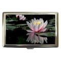 Water lily cigarette case for 100's
