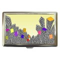 Skyscrapers cigarette case for 100's