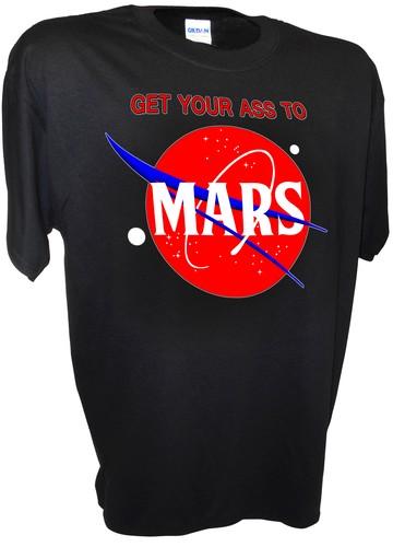 nasa mars t shirts