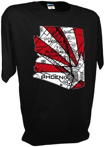 f1266f5e8f73 Arizona Cardinals Football Phoenix Glendale Palmer Fitzgerald Jersey T Shirt  - Achtung T Shirt WW2 Military T Shirts and Pro Gun T Shirts