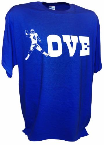 factory price 1fa02 de17c Love Dak Prescott Dallas Cowboys Football Rookie of the Year Qb 4 Funny Tee  Shirt
