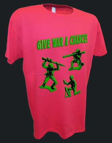 Give War Toy Soldiers Marx Airfix TimMee Armymen pink.jpeg