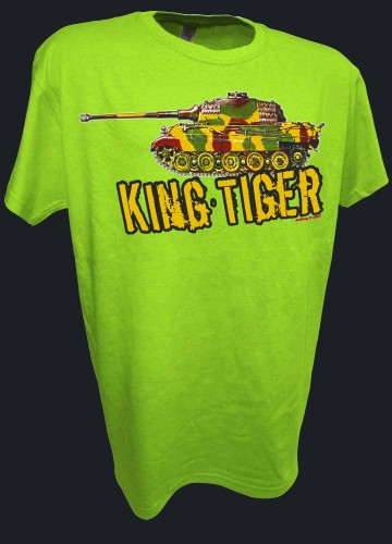King Tiger Konistiger Tiger 2 Tank German Rc Ww2 Panzer lime.jpeg