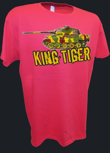 King Tiger Konistiger Tiger 2 Tank German Rc Ww2 Panzer pink.jpeg