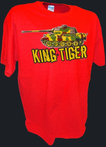 King Tiger Konistiger Tiger 2 Tank German Rc Ww2 Panzer red.jpeg
