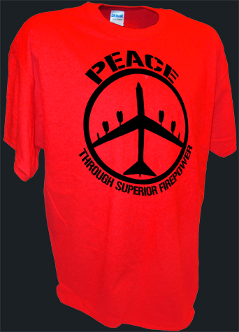 B52 Bomber Peace Sign Thru Superior Firepower Funny Pro War red.jpeg