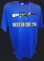 Ak47 Defend the Second Amendment Assault Rifle tee bl.jpeg