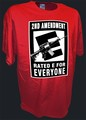 2nd Amendment Ar15 Ak47 Firearms Pro Gun t shirt red.jpeg