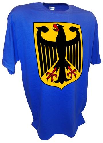 Deutschland German Prussian Eagle Germany Crest Coat of Arms Tee ...