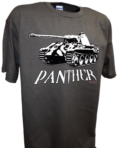 Panther Tank Ww2 German Panzer V T Shirt Achtung T Shirt Ww2