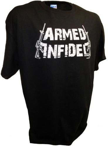 Infidel T Shirt BLACK T-shirty