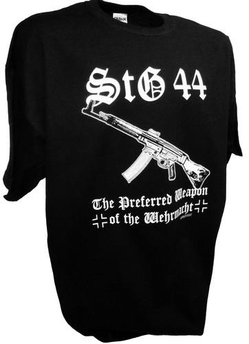 Fallschirmjager Stg 44 Wehrmacht Weapon Sturmgewehr Wwii Gun T Shirt