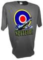 Spitfire Roundel Fighter Airplane RAF