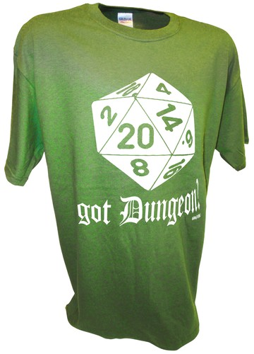 Got Dungeon and Dragons RPG Dice 1d20 MMORPG WoW green.jpeg