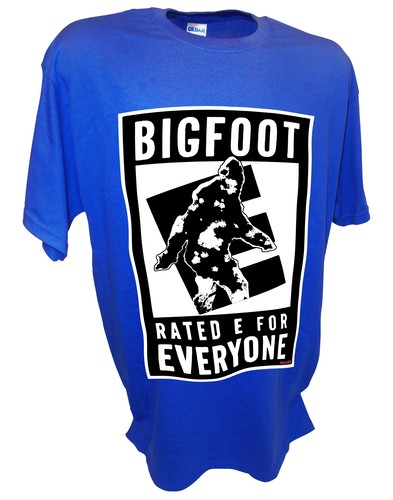 Bigfoot E Sasquatch Paranormal Ufo Aliens blue.jpeg