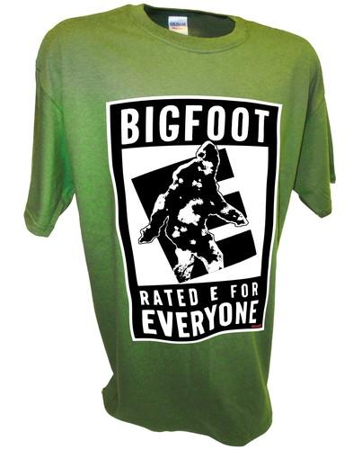 Bigfoot E Sasquatch Paranormal Ufo Aliens green.jpeg