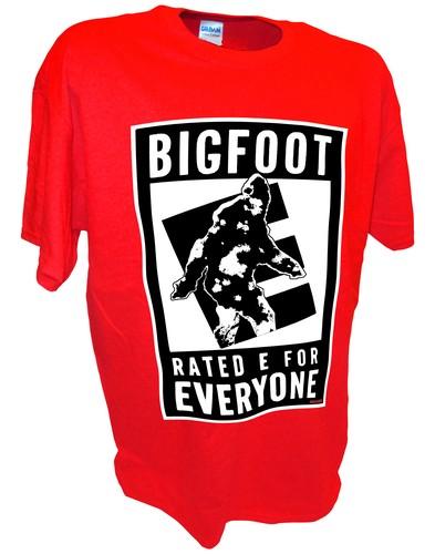 Bigfoot E Sasquatch Paranormal Ufo Aliens red.jpeg