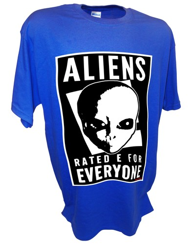 Aliens Rated E Paranormal Ufo Area 51 Bigfoot blue.jpeg