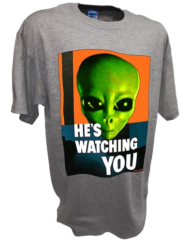 Alien Hes Watching Paranormal Area 51 Ufo x files t shirt spt.jpeg