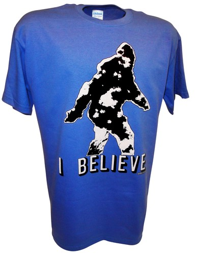 Bigfoot Sasquatch Yeti Paranormal Aliens Sightings t shirt bl.jpeg