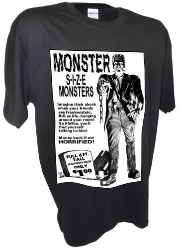 Monster 6 Foot Frankenstein Horror Comic Book Ad
