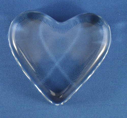 clear crystal heart - photo #34