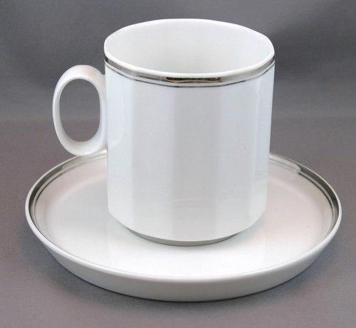 Rosenthal Studio Linie Athena Pattern Cup And Saucer Maimeo S