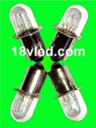 4pk Dewalt Rigid Ryobi 18 Volt Xenon Flashlight Bulbs 18v