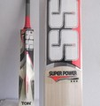 SS Super Power English Willow Cricket Bat 2014 Decals