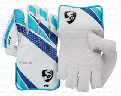 SG Club Cricket Wicket Keeping Gloves 2016-2017