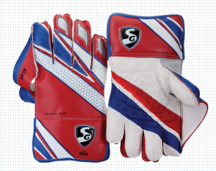 SG Test Cricket Wicket Keeping Gloves 2016-2017